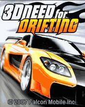 3D Need For Drifting (176x220) Samsung