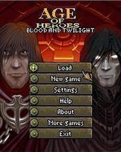 Age Of Heroes 4 - Blood And Twilight (128x160) S40v3