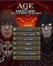 Age Of Heroes 4 - Blood And Twilight (320x240) S60v3
