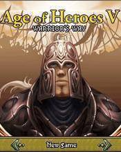 Age Of Heroes V - Warriors Way (176x220) SE K750i