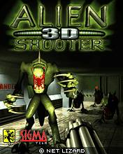 Alien Shooter 3D (176x220)