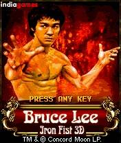 Bruce Lee - Iron Fist 3D (240x320)