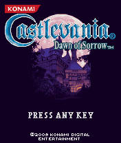Castlevania Dawn Of Sorrow (128x160) Nokia 5200