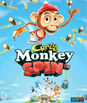 Crazy Monkey Spin (240x400) Samsung S5230 Touchscreen