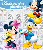 Disney 3 In 1 Puzzle (Multiscreen)
