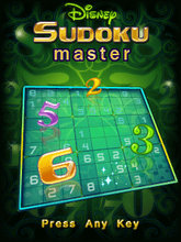 Download 'Disney Sudoku Master (240x320) Nokia' to your phone