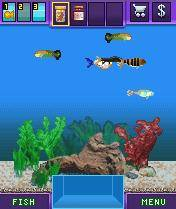 Fish tycoon 320x240 s60v3 mobile cell phone game from for Fish tycoon games