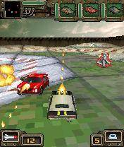 Download 'Guns Wheels And Madheads 3D (176x220)' to your phone