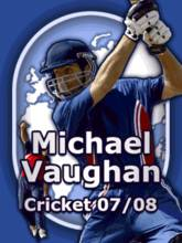 Michael Vaughan International Cricket 07-08 (240x320)