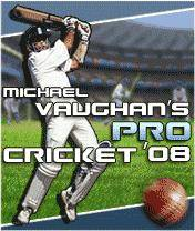 Michael Vaughans Cricket 2008 (128x160)