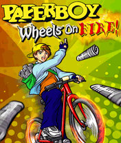 Paperboy Wheels On Fire (128x128) Nokia 3100 S40v1