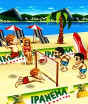 Playman Beach Volley 3D (240x320)