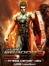 Solid Weapon 3 Red Gun (240x320) SE K858i