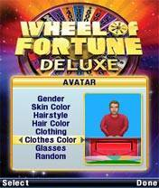 Download 'Wheel Of Fortune Deluxe (128x160)' to your phone