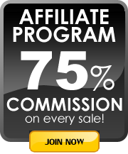 Affiliate Program 75% commission on every sale