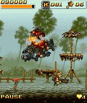Metal Slug Mobile Impact (240x320)